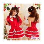 【サンタ】 クリスマス☆サンタクロース/コスプレセット/コスチューム/s004