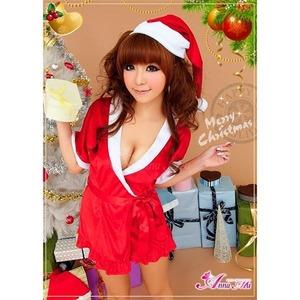 【サンタ】サンタクロース衣装/コスプレセット/コスチューム/s021 - 拡大画像