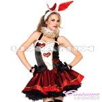 【ハロウィン】バニーガール 女王様 クイーン コスプレ ハロウィン衣装/4465