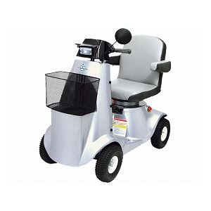 【新着情報】高齢の男性が良く乗っている「カワムラサイクル 電動カート ロマンスゴールド / KE43【非課税】