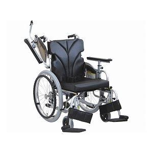 カワムラサイクル 自走用車いす 簡易低床型モジュール KZ20-38・40・42-LO 低床タイプ/ 座幅42cm No.88【非課税】 - 拡大画像