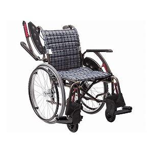 カワムラサイクル 自走用 WAVIT+(ウェイビットプラス) WAP22-40・42S ソフトタイヤ仕様/ 座幅40cm A13【非課税】 - 拡大画像