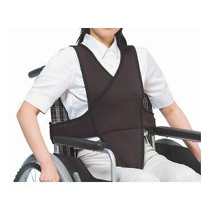 特殊衣料 車椅子ベルト /4010 L ブラック - 拡大画像