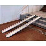 パシフィックサプライ テレスコピックスロープ(2本1組) /1841 長さ150cm border=