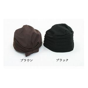 キヨタ おでかけヘッドガード(ターバンタイプ) /KM-1000E L ブラウン h02