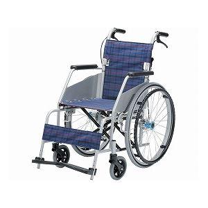 片山車椅子製作所 KARLII カール・コンパクト KW-801 /座幅40cm 濃紺【非課税】 - 拡大画像