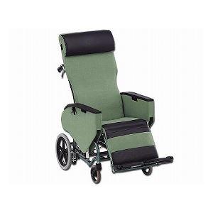 松永製作所 ティルト&フルリクライニング車椅子 エリーゼ FR-31TR /B-16(ビニールレザー)【非課税】 - 拡大画像