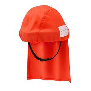 避難用簡易保護帽 でるキャップ for kids レッド(子供用) DCFK-RD-01