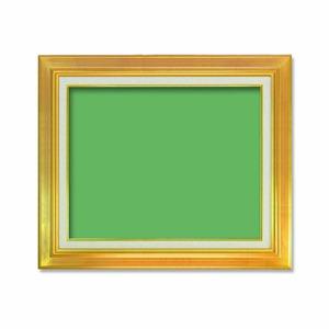 【油額】油絵額・キャンバス額・金の油絵額・銀の油絵額 ■7711 F8号(455×380mm)「ゴールド」 - 拡大画像