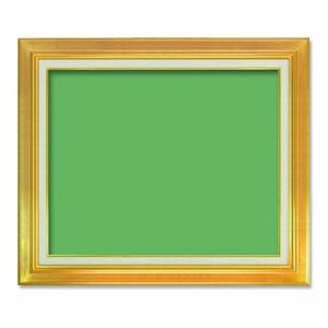 【油額】油絵額・キャンバス額・金の油絵額・銀の油絵額 ■7711 F15号(652×530mm)「ゴールド」 - 拡大画像