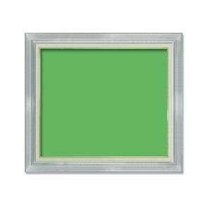【油額】油絵額・キャンバス額・金の油絵額・銀の油絵額 ■7711 F20号(727×606mm)「シルバー」 - 拡大画像