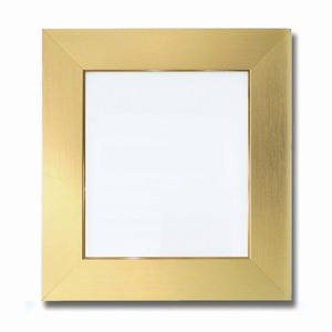【色紙額】幅が広い色紙額 ■白・黒・金・銀色紙額(8×9)273×242mm(ゴールド)