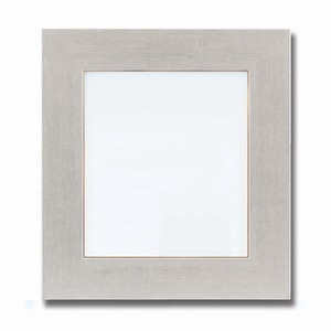 【色紙額】幅が広い色紙額 ■白・黒・金・銀色紙額(8×9)273×242mm(シルバー)
