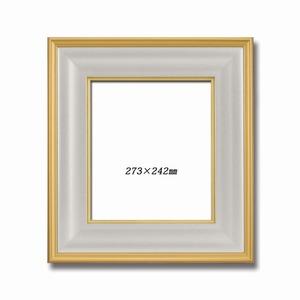 【金色紙額】【高級色紙額】輝く金フレームの色紙額 ■金色紙(マット付き)273×242mm ゴールド