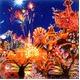 【マイナスイオンフレーム】大きなポスター額 ■ヒロ・ヤマガタポスター額DX「ディズニー エレクトリカルパレード」 - 縮小画像2