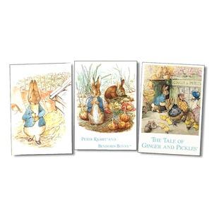 ピーター・ラビットのポストカード ラビット絵葉書 15枚セット(3種各5枚)