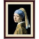 【フェルメールの代表作】謎多き画家 鮮やかな青色 ■ヨハネス・フェルメール(Johannes Vermeer)F4号 真珠の耳飾りの少女