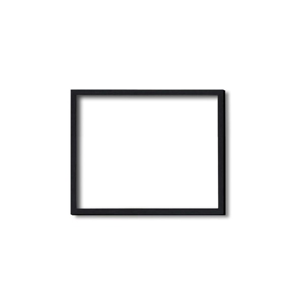 【木製額】色あせを防ぐUVカットアクリル ■デッサン額 八ツ切サイズ(303×242mm) ブラック(黒) 壁掛けひも付き 化粧箱入り