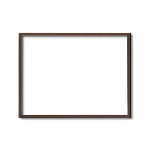 【木製額】色あせを防ぐUVカットアクリル ■デッサン額 三三サイズ(606×455mm)ブラウン 壁掛けひも付き 化粧箱入り