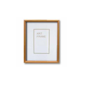 【木製額】温かみのある木製フレーム ■デッサン額 インチサイズ(254×203mm)ナチュラル - 拡大画像