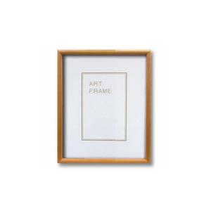 【木製額】温かみのある木製フレーム ■デッサン額 八ツ切サイズ(303×242mm)ナチュラル - 拡大画像