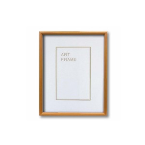 【木製額】温かみのある木製フレーム ■デッサン額 太子サイズ(379×288mm)ナチュラル - 拡大画像