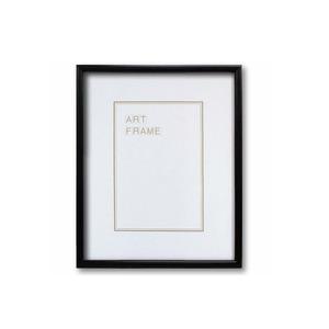 【木製額】温かみのある木製フレーム ■デッサン額 太子サイズ(379×288mm)ブラック - 拡大画像