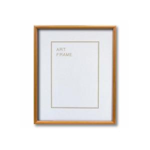 【木製額】色あせを防ぐUVカットアクリル 温かみのある木製フレーム デッサン額 大衣サイズ(509×394mm) ナチュラル - 拡大画像