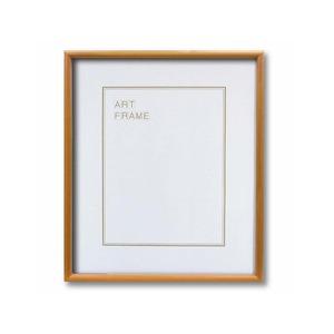 【木製額】色あせを防ぐUVカットアクリル 温かみのある木製フレーム デッサン額 半切サイズ(545×424mm)ナチュラル - 拡大画像