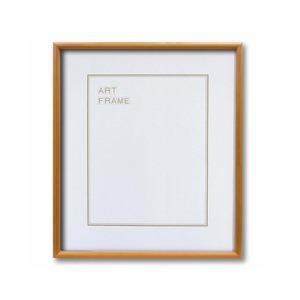 【木製額】色あせを防ぐUVカットアクリル 温かみのある木製フレーム デッサン額 三三サイズ(606×455mm)ナチュラル - 拡大画像