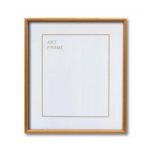 【木製額】色あせを防ぐUVカットアクリル 温かみのある木製フレーム デッサン額 大全紙サイズ(727×545mm) ナチュラル - 拡大画像