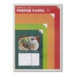 【木製額】温かみのある木製ポスターパネル ポスターパネル A1サイズ(594×841mm) ホワイト