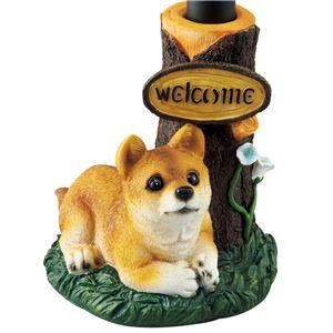 ドッグソーラーライト 【柴犬】 - 拡大画像