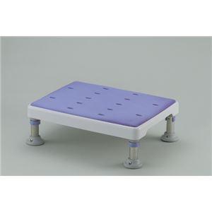 やわらか浴槽台GR 2段階高さ調節付き(1) 【ロータイプ】 脱着式天板/天板シート (入浴用品/介護用品) - 拡大画像