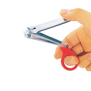 (まとめ)シクロケア 爪切り 爪切りラッキリ 955【×10セット】 - 拡大画像