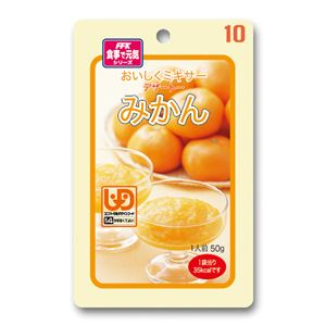 (まとめ)ホリカフーズ 介護食 おいしくミキサー(10)みかん 12袋入 567685【×3セット】 - 拡大画像