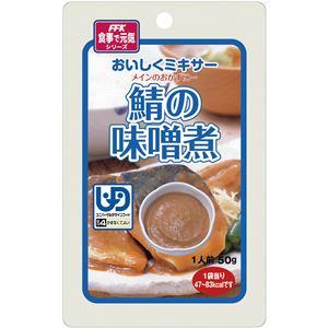(まとめ)ホリカフーズ 介護食 おいしくミキサー(16)鯖の味噌煮(12袋入) 567700【×3セット】 - 拡大画像