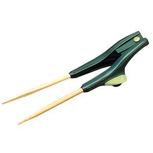 (まとめ)ウインド 食事用具 箸蔵くん・II 左用 グリーン 0115 S2-1【×2セット】 - 拡大画像