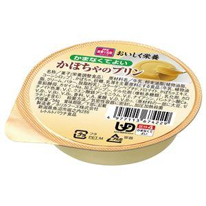 (まとめ)ホリカフーズ 介護食 オイシク栄養(1)かぼちゃのプリン(1個) 567422【×50セット】 - 拡大画像