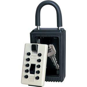 ケイデンセキュリティー セキュリティ カギ番人 南京錠型プッシュ式PC4 PC4 - 拡大画像