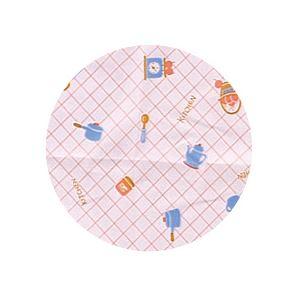 (まとめ)宇都宮製作 生き活きお食事用エプロン袖付 ピンク N187-F【×2セット】