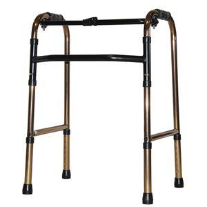 アクションジャパン 歩行器 折りたたみ式歩行器 標準タイプ ブロンズ C2021【非課税】
