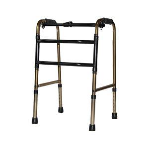 アクションジャパン 歩行器 交互式歩行器 標準タイプ ブロンズ C2023【非課税】