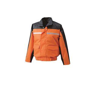 ナダレス空調服ブルゾン リチウムバッテリーセット BR-500NC30S4 オレンジ 2L