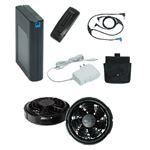 空調服 FAN FIT空調服用バッテリー(FFSET)+ファン(カラー:ブラック)セット