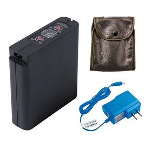 空調服 大容量リチウムイオンバッテリーセット (本体/ACアダプター/ケース) 6500mAh  LIULTRA I - 拡大画像