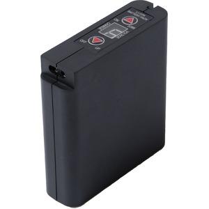 空調服用 大容量 リチウムイオンバッテリー 【本体のみ】 6500mAh IPX 完全防水〔作業服 作業着〕 - 拡大画像
