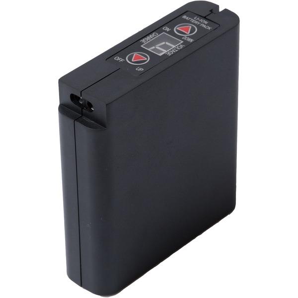 空調服用 大容量 リチウムイオンバッテリー 【本体のみ】 6500mAh IPX 完全防水〔作業服 作業着〕