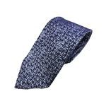 日本製シルク100%ネクタイ おぼろデザイン
