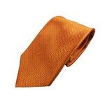 日本製シルク100% 織りオレンジ